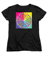A Rainbow Artwork - Women's T-Shirt (Standard Fit) - Designs by ndiso