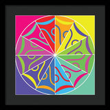 A Rainbow Artwork - Framed Print - Designs by ndiso