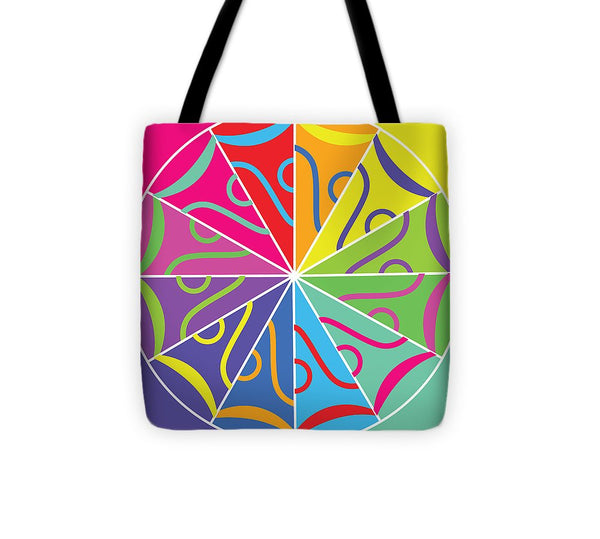 A Rainbow Artwork - Tote Bag - Designs by ndiso