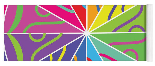 A Rainbow Artwork - Yoga Mat - Designs by ndiso