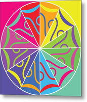 A Rainbow Artwork - Metal Print - Designs by ndiso