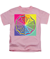 A Rainbow Artwork - Kids T-Shirt - Designs by ndiso