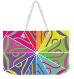 A Rainbow Artwork - Weekender Tote Bag - Designs by ndiso