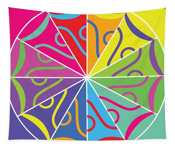 A Rainbow Artwork - Tapestry - Designs by ndiso