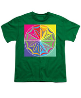 A Rainbow Artwork - Youth T-Shirt - Designs by ndiso
