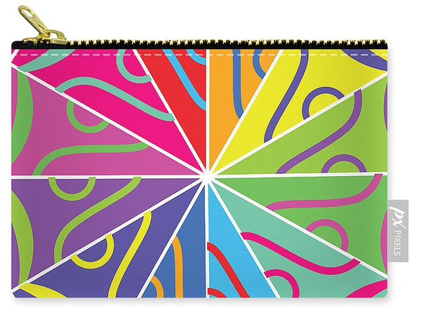 A Rainbow Artwork - Carry-All Pouch - Designs by ndiso