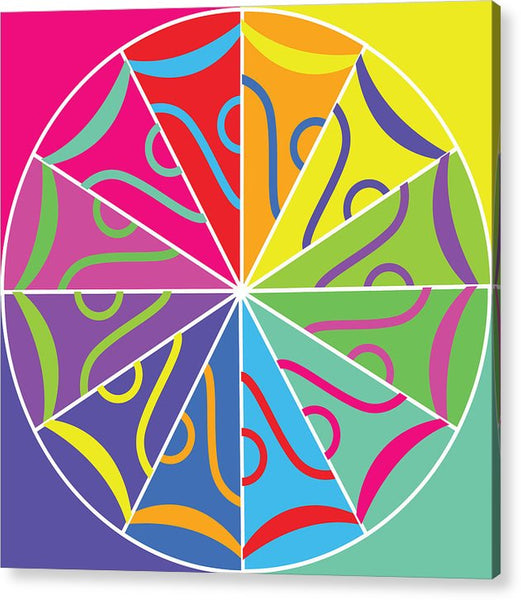 A Rainbow Artwork - Acrylic Print - Designs by ndiso