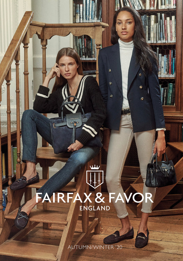 Spring Summer 2020 Fairfax and Favor Catalogue cover