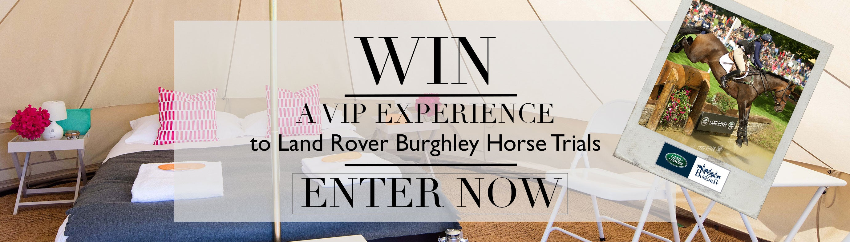 Burghley Horse Trials Competition