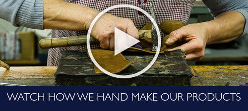 Watch how we hand make our products
