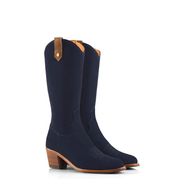 The Rockingham Limited Edition - Navy & Tan