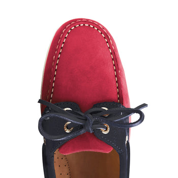 Limited Edition Salcombe - Navy & Raspberry
