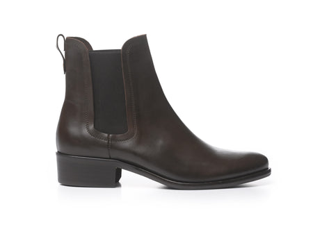 The Chelsea - Brown Full Grain Leather - Womens Ankle Boots - Fairfax & Favor