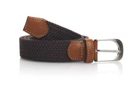 The Holkham Belt - Chocolate - Outlet - Fairfax & Favor