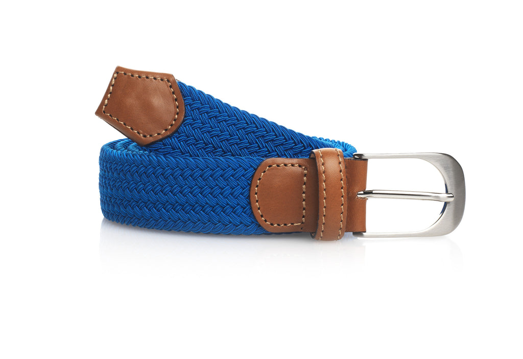 The Holkham Belt - Cobalt Blue