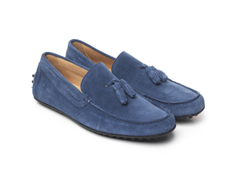 Mens Driver -  Blue - Shoes - Fairfax & Favor
