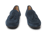 Mens Driver - Teal blue-Driving shoes-FAIRFAX & FAVOR-FAIRFAX AND FAVOR