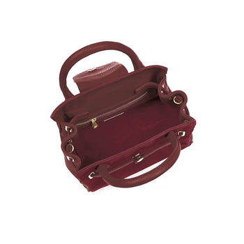 The Mini Windsor Handbag - Oxblood