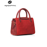 The Mini Windsor Handbag - Red - By Amynevfashiondiaries