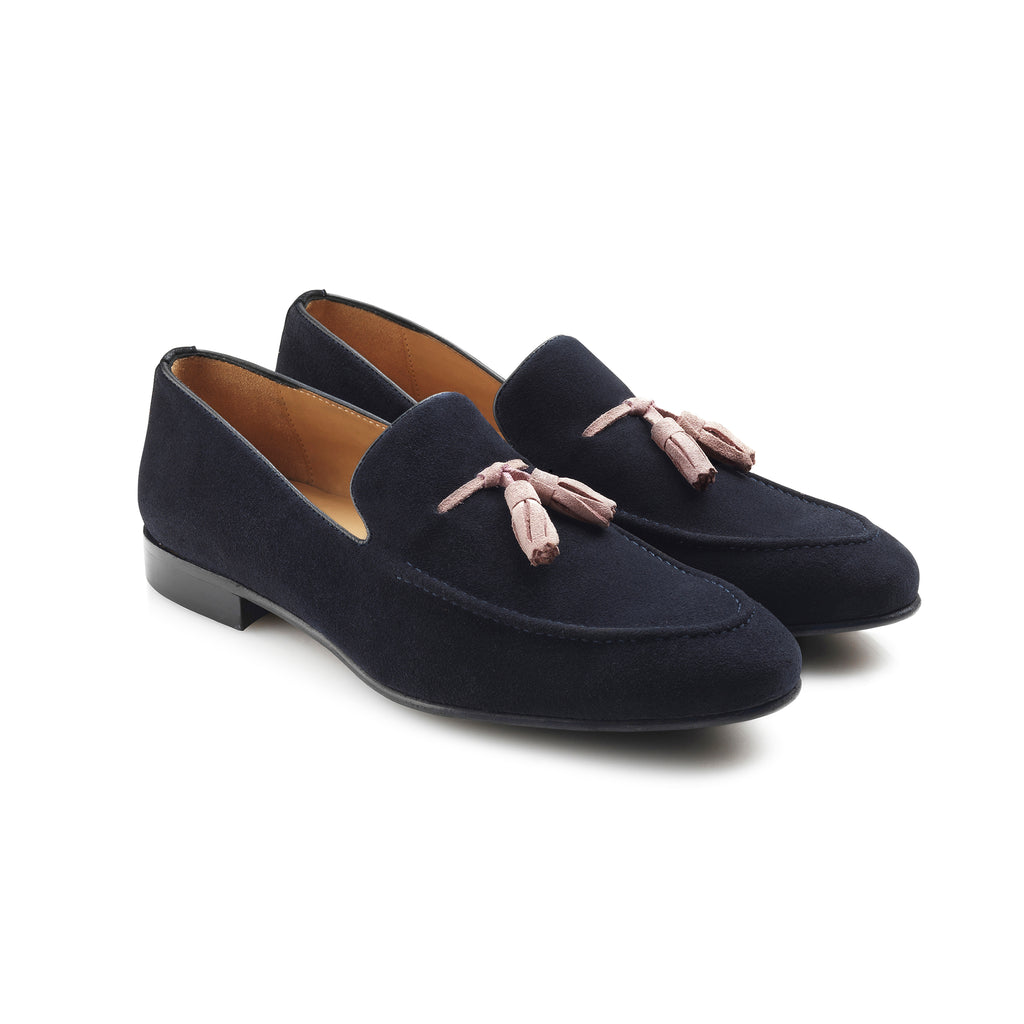 The Bedingfeld - Navy Blue-Loafers-FAIRFAX & FAVOR-FAIRFAX AND FAVOR