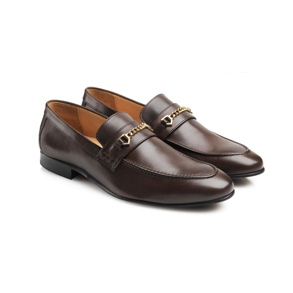 The Mayfair - Brown Full Grain Leather-Loafers-FAIRFAX & FAVOR-FAIRFAX AND FAVOR