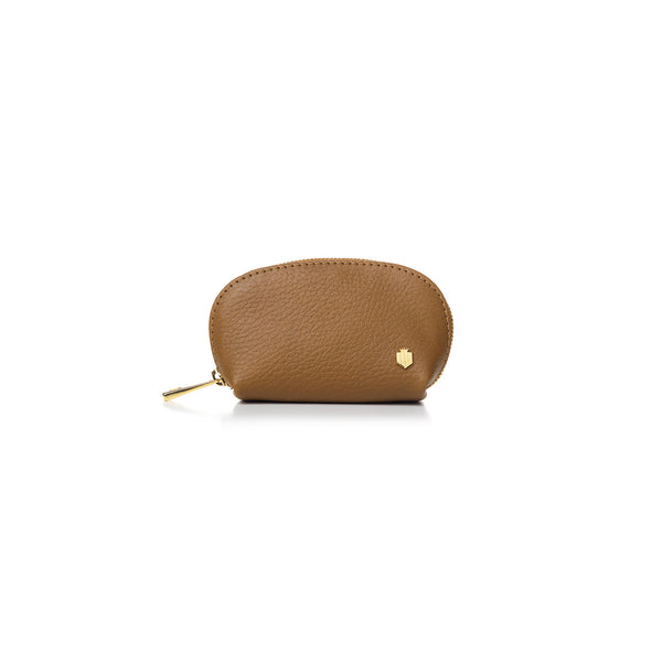 The Chatham Coin Purse - Tan - Purses - Fairfax & Favor