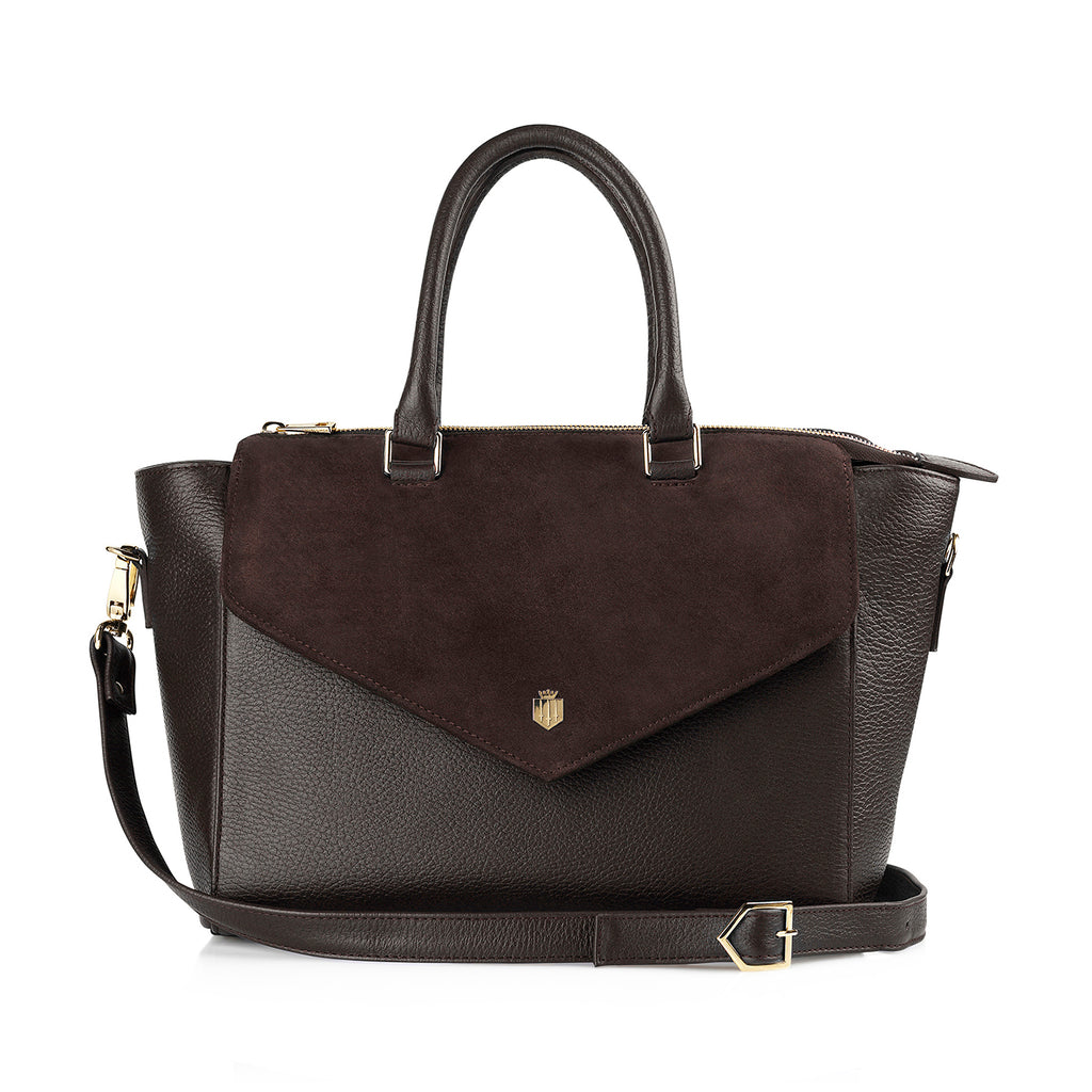 The Dorchester Handbag - Chocolate