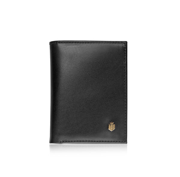 The Walpole - Black Leather - Mens: A Day at the Races - Fairfax & Favor
