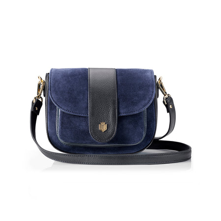 The Highcliffe - Navy - HANDBAGS - Fairfax & Favor