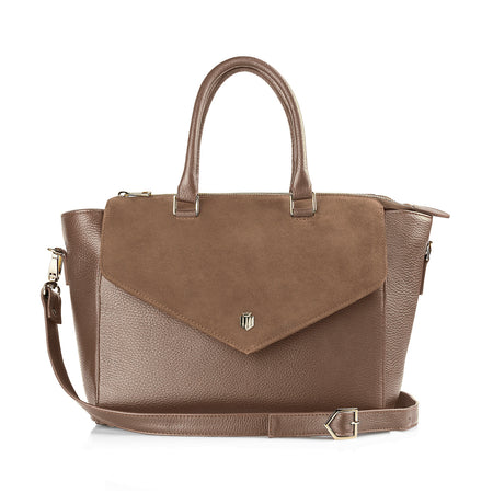 The Dorchester Handbag - Tan - HANDBAGS - Fairfax & Favor
