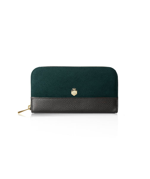 The Salisbury Purse - Bottle Green - Ladies Gifts £50 to £200 - Fairfax & Favor