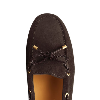 The Henley - Chocolate-Driving shoes-FAIRFAX & FAVOR-FAIRFAX AND FAVOR