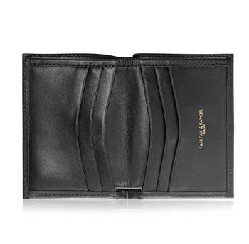 The Walpole - Black Leather
