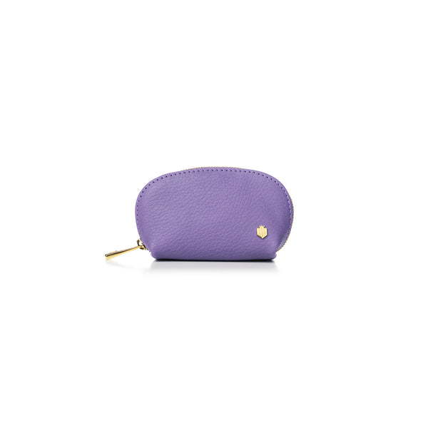 The Chatham Coin Purse - Lilac - Purses - Fairfax & Favor