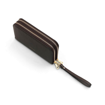 The Winchester Travel Wallet - Chocolate