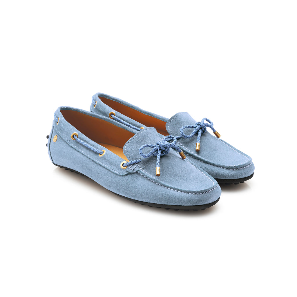 The Henley - Baby Blue-Driving shoes-FAIRFAX & FAVOR-FAIRFAX AND FAVOR