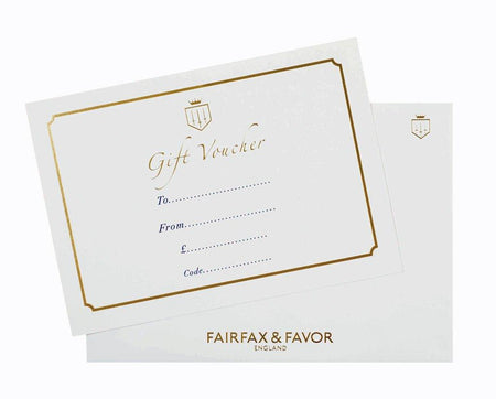 Gift Card - £150 to £250 - Fairfax & Favor