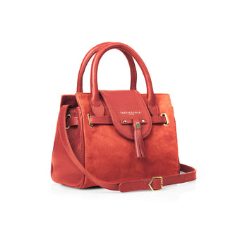 The Mini Windsor Handbag - Coral