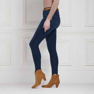 The Regina Ankle Boot - Tan