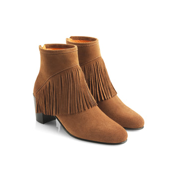 The Pimlico - Tan-Ankle Boots-FAIRFAX AND FAVOR-FAIRFAX AND FAVOR
