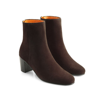The Knightsbridge - Chocolate-Ankle Boots-FAIRFAX AND FAVOR-FAIRFAX AND FAVOR