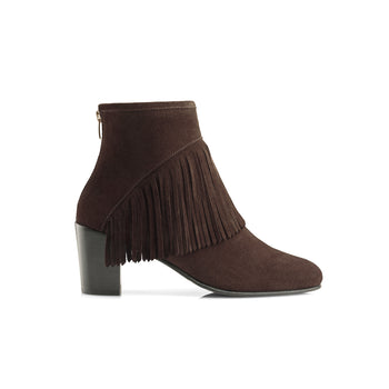 The Pimlico - Chocolate-Ankle Boots-FAIRFAX AND FAVOR-FAIRFAX AND FAVOR