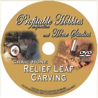 Relief Leaf Carving DVD