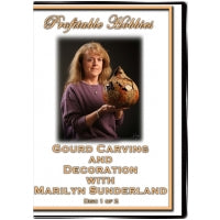 Load image into Gallery viewer, Gourd Carving DVD Set by Marilyn Sunderland