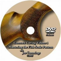 DVD- Fishscale Carving by Joe Cummings