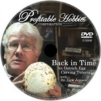 DVD- Back in Time Ostrich Egg Carving