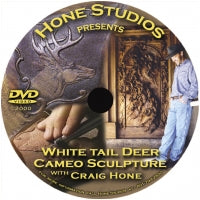 DVD - White Tail Deer Cameo Sculpture