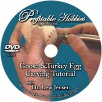 DVD- Goose & Turkey Egg Engraving Tutorial