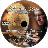 DVD- Advanced Egg Carving Tutorial