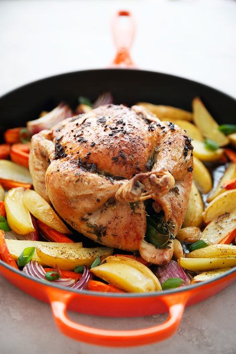 Herb Roasted Farmhouse Chicken